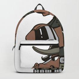 horse yee haw  Backpack