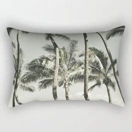 Kuau Beach Palms Maui Hawaii Rectangular Pillow