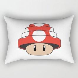 Are We Not Mushroom Rectangular Pillow
