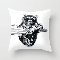 Hang In There, Baby Throw Pillow
