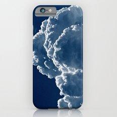 Puffy Cumulus clouds on Deep Blue Sky iPhone 6s Slim Case