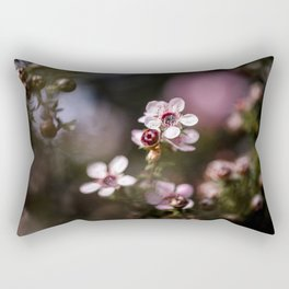 Pink Manuka Rectangular Pillow