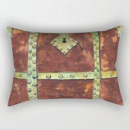 Pirate's Treasure Chest Rectangular Pillow
