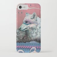 chelsea iPhone & iPod Cases featuring Lone Wolf by Mat Miller