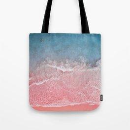 Bahamas pink blue Tote Bag