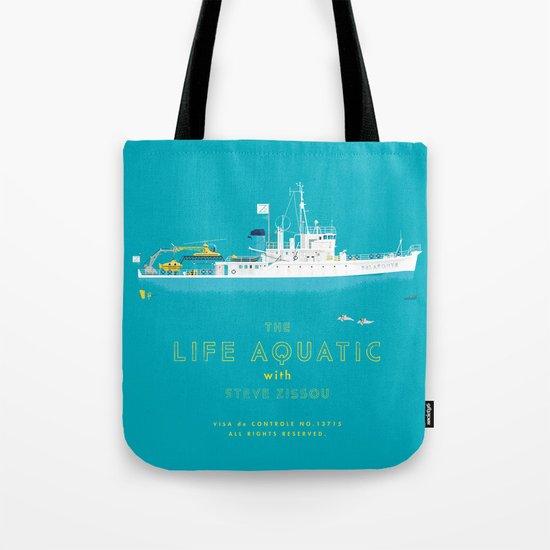 The Life Aquatic with Steve Zissou Tote Bag