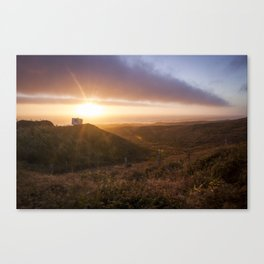 Never Stop Sunset  Canvas Print
