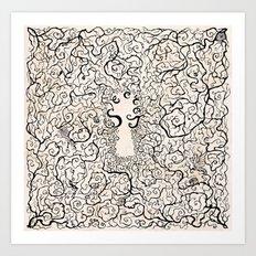 Parchment Secret Art Print