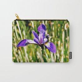 Wild iris on Seal Island, Nova Scotia Carry-All Pouch