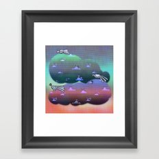 Migration to paradise Framed Art Print