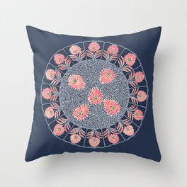 Girl Scout Patch Throw Pillow