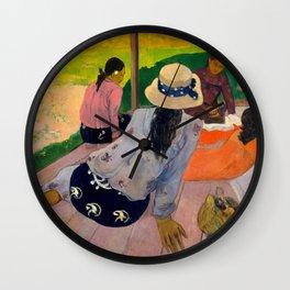 "Paul Gauguin ""The Siesta"" Wall Clock"
