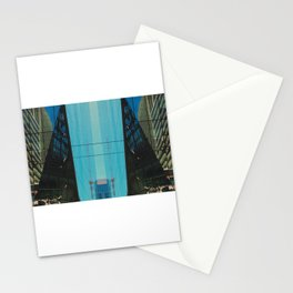 Glassy Buildings of San Francisco Stationery Cards