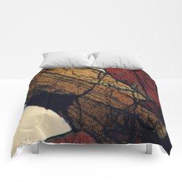 Epidote and Quartz Comforters