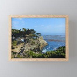 Feelin' edgy Framed Mini Art Print