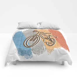 Cycling Cycling Hobby Motive Comforters