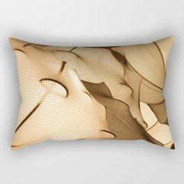 Elastic Waves Rectangular Pillow