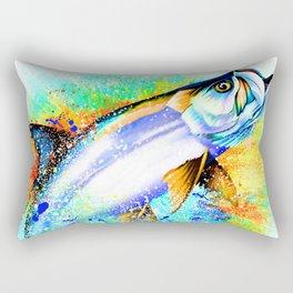 Tarpon Blast Rectangular Pillow