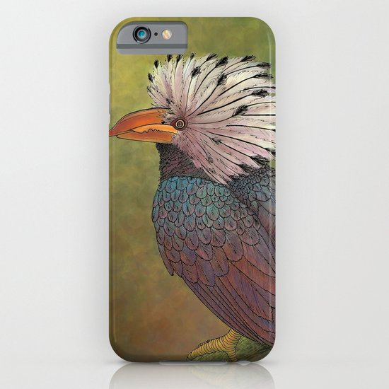 White Crested Hornbill iPhone & iPod Case
