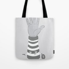 Armed Robbery Tote Bag