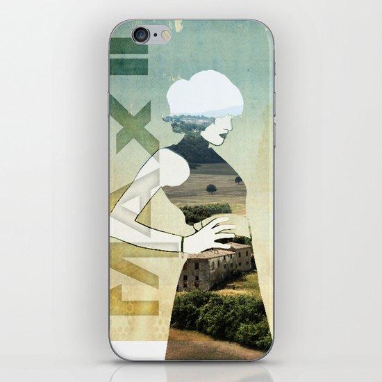 Maxii girl 02 iPhone & iPod Skin