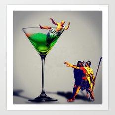 MixMotion: Sours Art Print