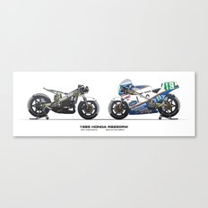 Honda RS250RW - 1985 Freddie Spencer Canvas Print