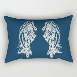 Midnight Flight Rectangular Pillow