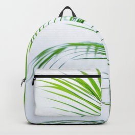 Palm leaves paradise Backpack