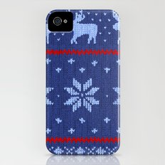 Winter Lovers Christmas Slim Case iPhone (4, 4s)