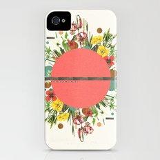 Organic Beauty_1 iPhone (4, 4s) Slim Case