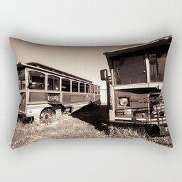 Trolly Ride Rectangular Pillow