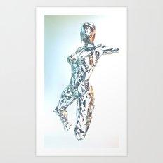 ORIGAMI v3 Art Print