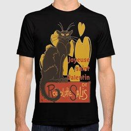 Joyeuse saint Valentin Le Chat Noir Parody T-shirt