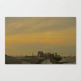 Baltimore Harbor-Dusk Canvas Print