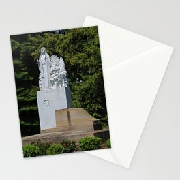 Lourdes University- Our Lady of Sylvania in the Spring (vertical) Stationery Cards