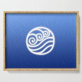 Avatar Water Bending Element Symbol Serving Tray