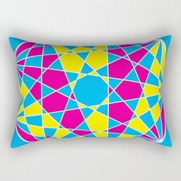 Broken Nonagon 1 Rectangular Pillow