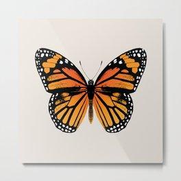 Monarch Butterfly | Vintage Butterfly | Metal Print