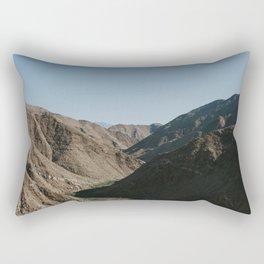 Mountain Valley at Sunrise Rectangular Pillow