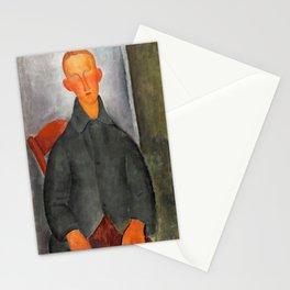 Amedeo Modigliani - Petit Garcon Roux - Digital Remastered Edition Stationery Cards
