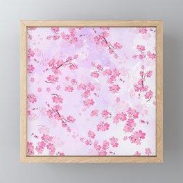 Cherry Flower Framed Mini Art Print