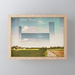 Belle France, en pièces Framed Mini Art Print