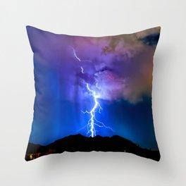 Monsoon Trippin Throw Pillow