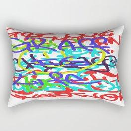 Graffiti Is Life Rectangular Pillow