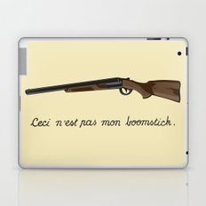 This is not my Boomstick Laptop & iPad Skin