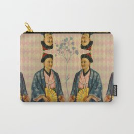 Antique Asian Trade Card Carry-All Pouch