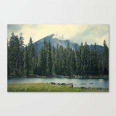 Mt Mcloughlin Canvas Print