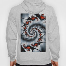 Fractal Art - Fire and Ice Hoody