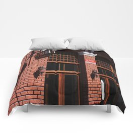 Red Brick Wall... Comforters